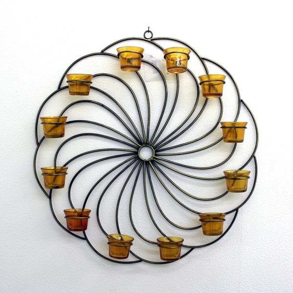 Gold Wash Hanging Wall Decorative