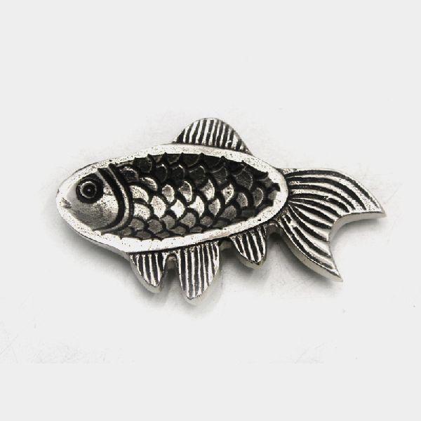 Nickel Antique Aluminium Fish Table