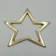 Plated Christmas Hanging Star