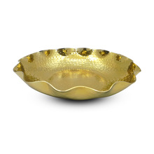Round Gold Plated Bowl