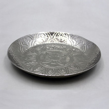 Round Metal Decorative Serving Tray