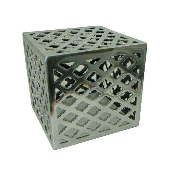 Square Aluminium Metal Stool