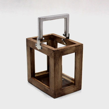 Steel Glass Wooden and Metal Lanterns
