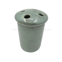 Toothbrush Holders Green Coated