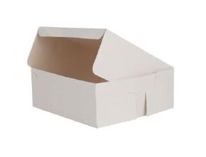 Cake Box-White