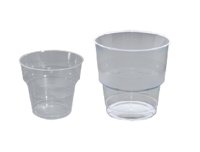 Clear Airline Cups
