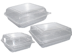Clear Square Cake Container