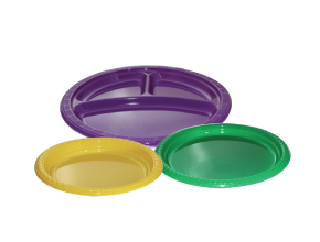 Colored Plastic Plate
