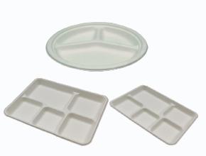 Compartment Bio-degradable Plates