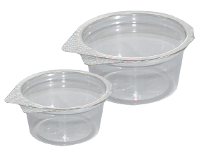 Hinged Lid Sauce Cup