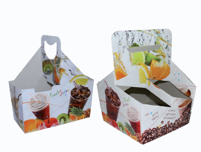 Paper Juice Cup Carrier