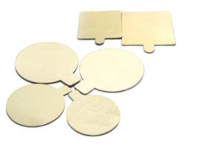 Round Cake Board, Gold