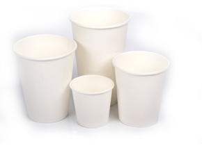 Single wall paper Cup-white