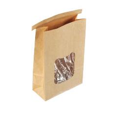 Tin-Tie Bag with Window