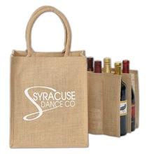 Jute wine bottles Bag
