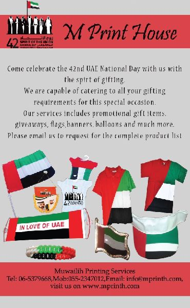 All types national day Items