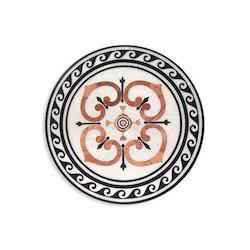 Stone Floor Medallion