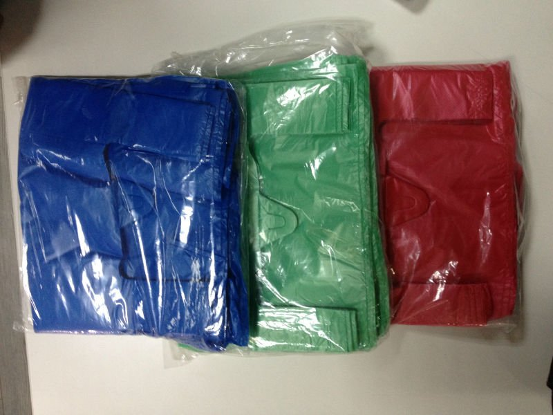 HDPE VEST STYLE CARRY BAG
