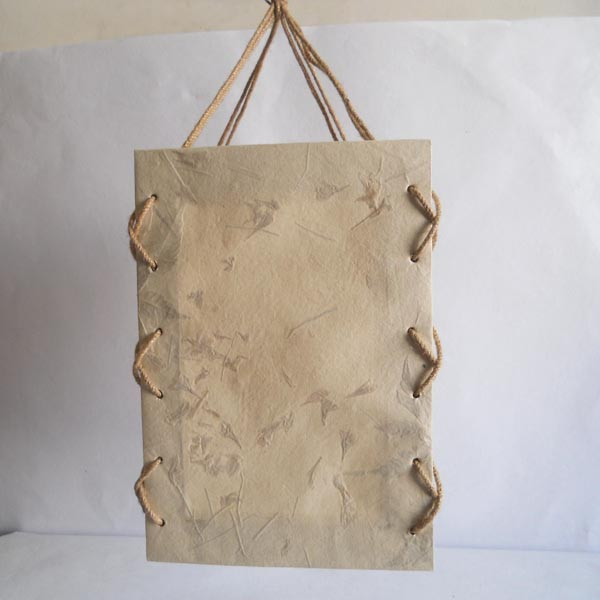 100% hemp sandwich paper with sprinkles grass petals lamp