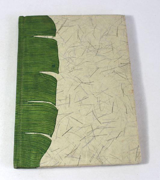 Banana fiber paper tree design notebook