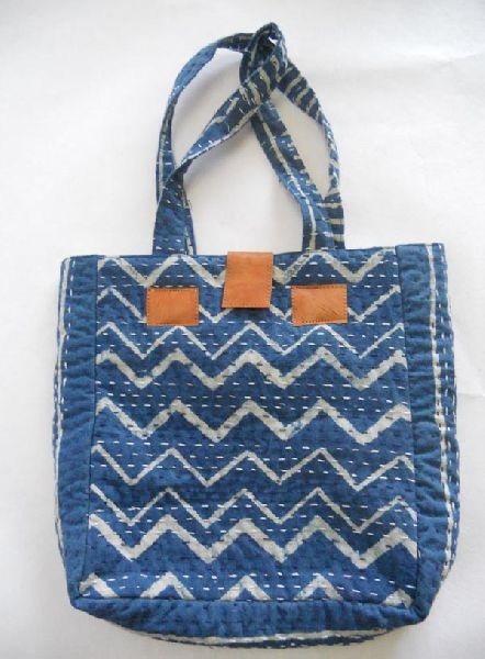 Decorative cotton hand bag