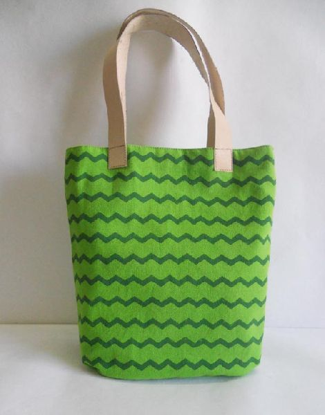 printed canvas gift bag