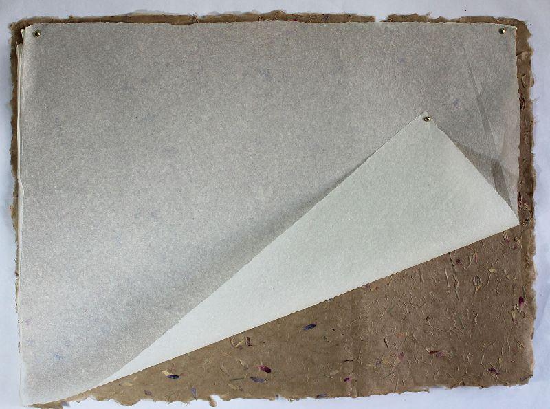 Tissue paper white color 100% banana fiber paper sheet