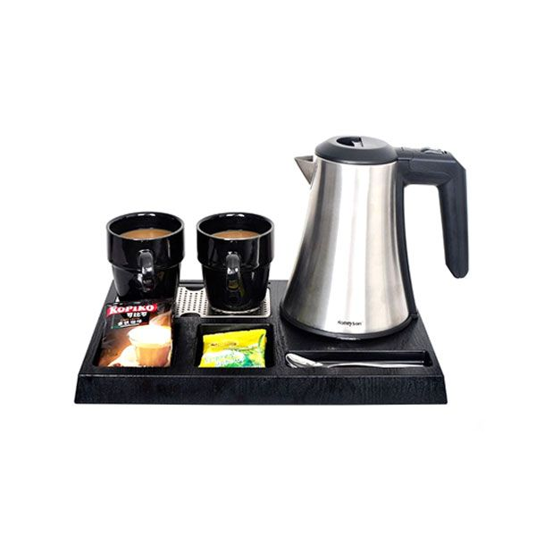 ELECT KETTLE & TRAY SET