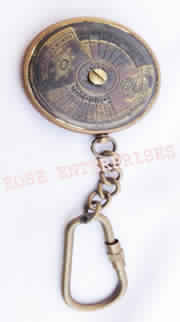 Antique Calendar Key Chain