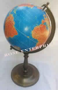 Antique Look Nautical Maritime World Globe