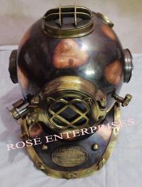 Antique Nautical Divers Helmet