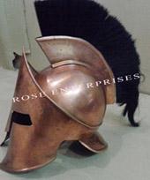 Armor Helmet With Black Plume