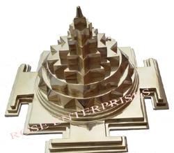 Brass 3D Meru Chakra/Shree Yantra