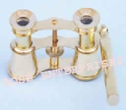 Brass Binocular with Handle