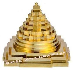 Brass Meru Chakra Shree Yantra