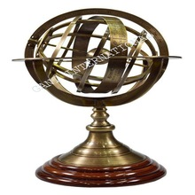 Nautical Antique Brass Armilary