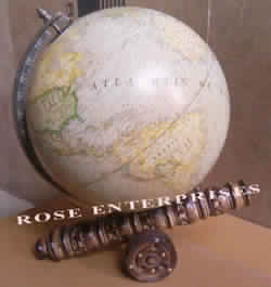 Nautical Vintage Globe