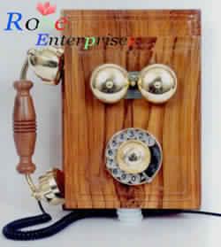 Nautical Wooden Telephone