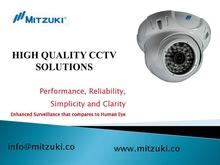 Night Vision Metal Housing CCTV Dome Camera