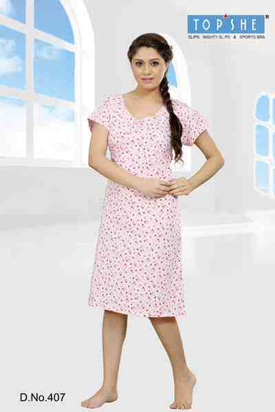 560d8237fb Buy Ladies Short Nighty from Top She