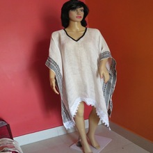 Linen Doby Poncho