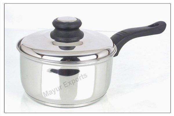stainless steel Sandwich Sauce Pan