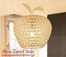 Apple Shape Crystal Lamp