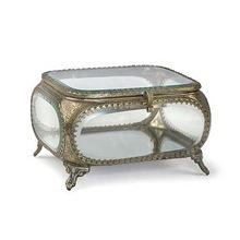Bevelled Glass Jevellery Box