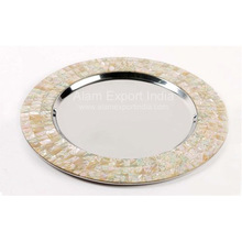 Border Charger Plate