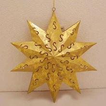 christmas decoration hanging star