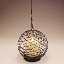 christmas decoration wire ball hanging