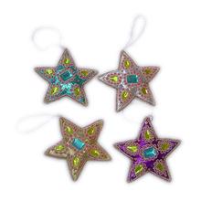 Christmas Ornament Star hanging
