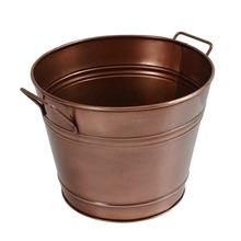 copper flower pot