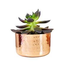 copper planter pots